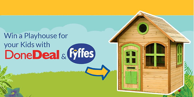 Go Bananas to Win a Playhouse for your Kids with Fyffes!