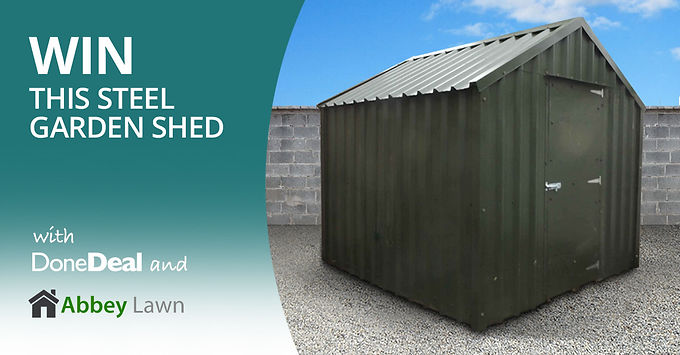 *NOW CLOSED* Get outta dat garden – shed competition!