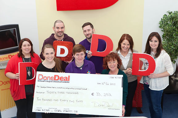 January's Charity Month raised €33,282