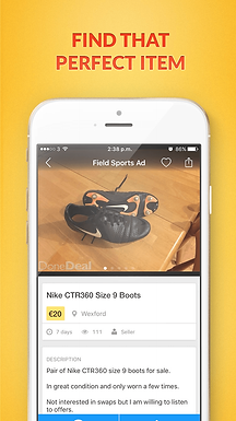 Better than ever Ad Page for iOS
