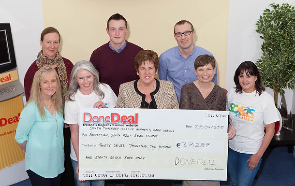 March's Charity Month raised €37,287