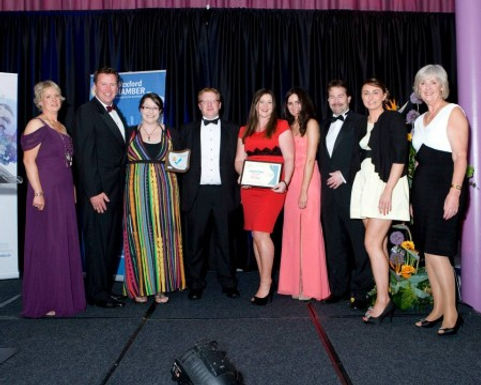 We won Employer of the Year 2013!