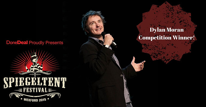 Dylan Moran Competition Winner!