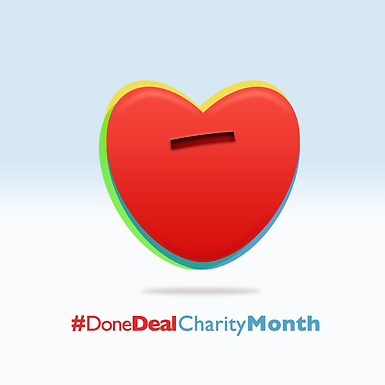 October's Charity Month!