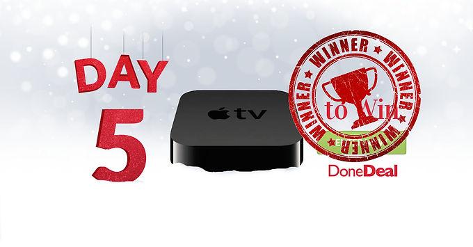 Day 5 Winner! 10 Days of Christmas