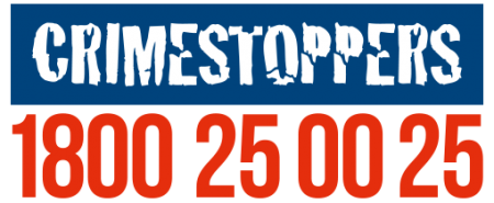 Crimestoppers logo - visit their website