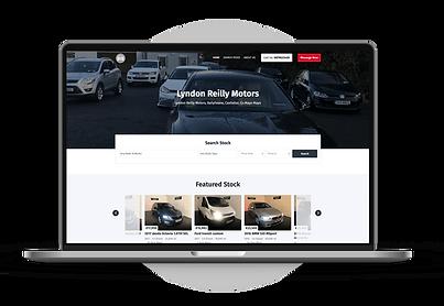 Dealer Websites-Lyndon Reilly Motors-min