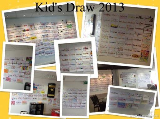 Kid's Draw 2013 WINNER!