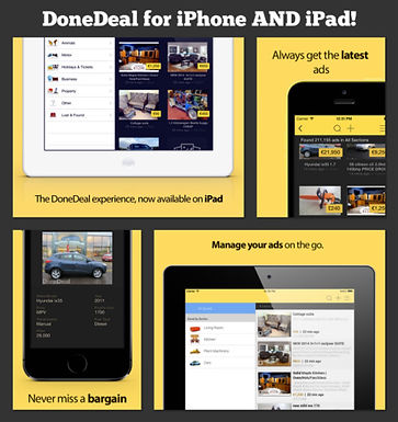 New DoneDeal iPhone AND iPad app available!