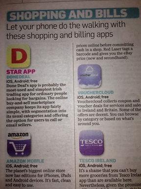 We're Star App in today's Irish Independent!