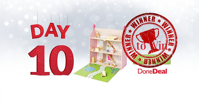 Day 10 Winner! 10 Days of Christmas