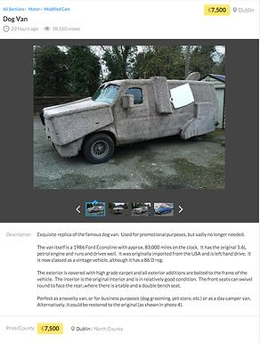 Dumb and Dumber replica van!
