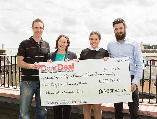 €37,370 raised from May DoneDeal Charity Month