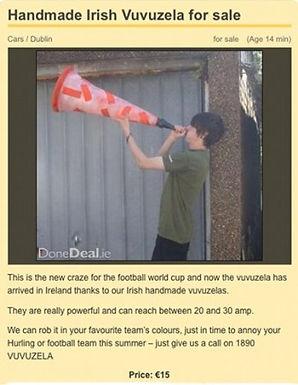 Vuvuzela!