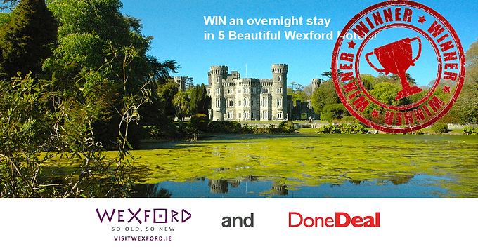 Visit Wexford Competition WINNER!