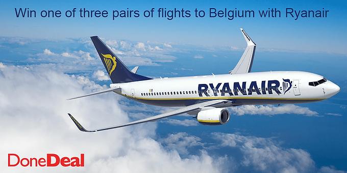 Win Flights to Belgium with Ryanair!