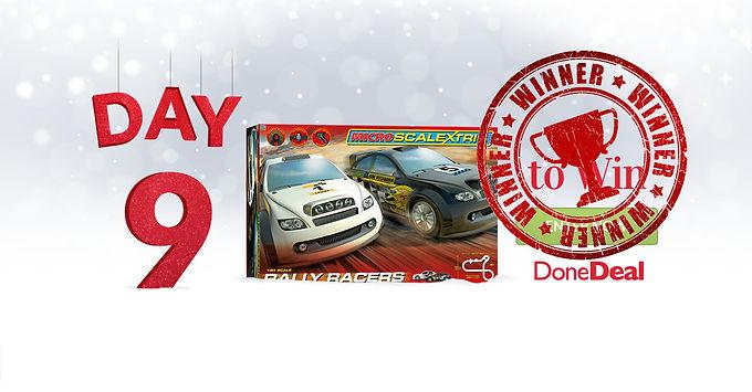 Day 9 Winner! 10 Days of Christmas