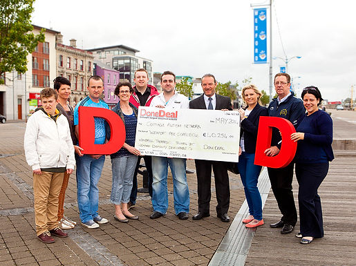 A whopping €40,254 raised for May's Charity Month!