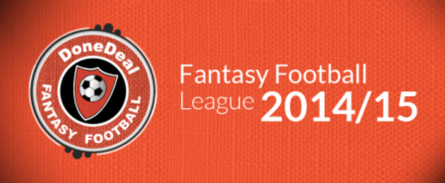 DoneDeal Fantasy Football League 2014/15