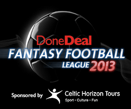 DoneDeal Fantasy Football League 2013/2014