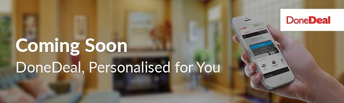 Coming soon: Personalised Homepage