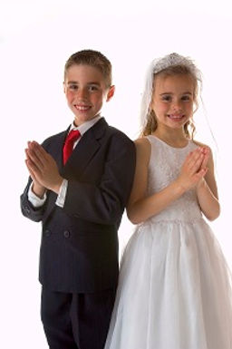 Perfect touches for Communion days
