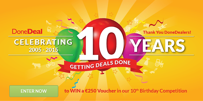 DoneDeal is 10!