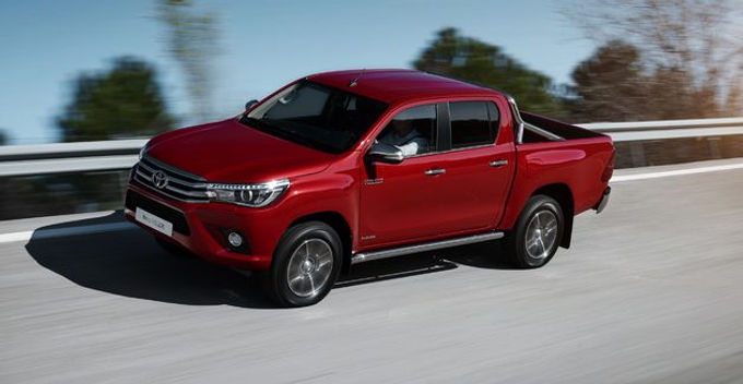 The all-new 2016 Toyota Hilux