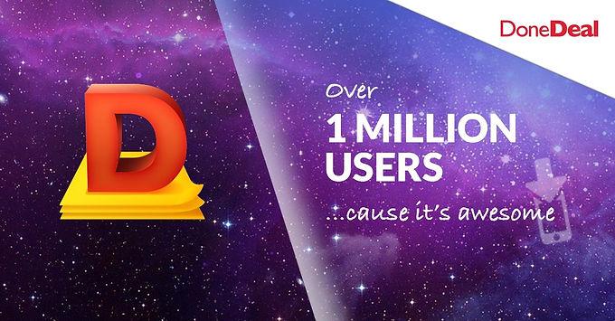 We're celebrating a million downloads