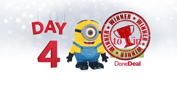 Day 4 Winner! 10 Days of Christmas