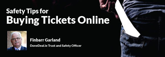 Buying Tickets Online? Our top safety tips