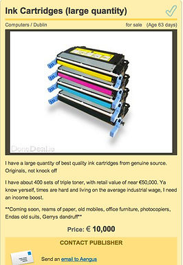 Ink Cartridges (large quantity)