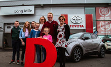 Family of 8 win €30,000 Toyota in DoneDeal's Car Giveaway
