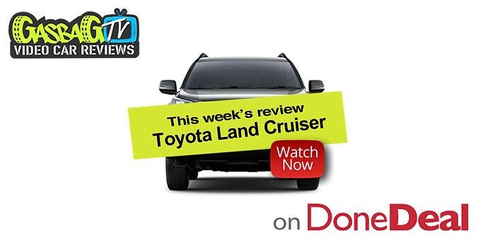 GasbagTV Car Review: Toyota Land Cruiser