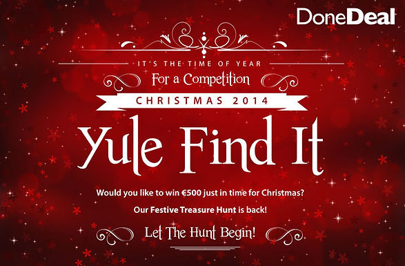 Yule Find It Competition 2014!