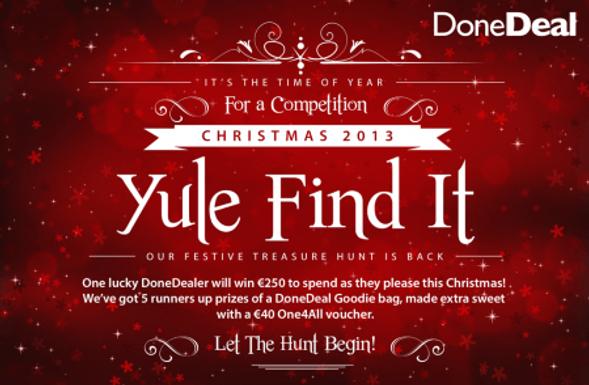Yule Find it 2013 WINNER!