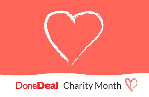 July is DoneDeal Charity Month!