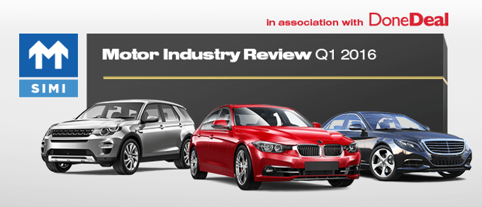 Motor Industry Review – Q1 2016
