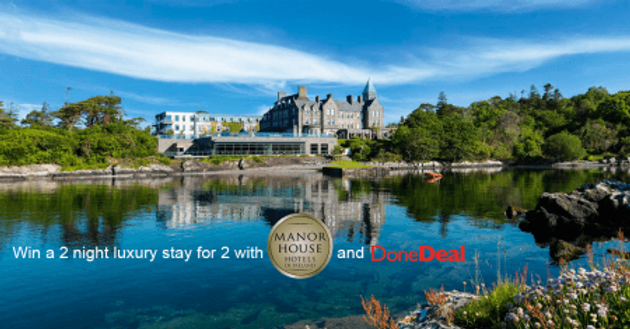 Win a romantic break with Manor House Hotels!
