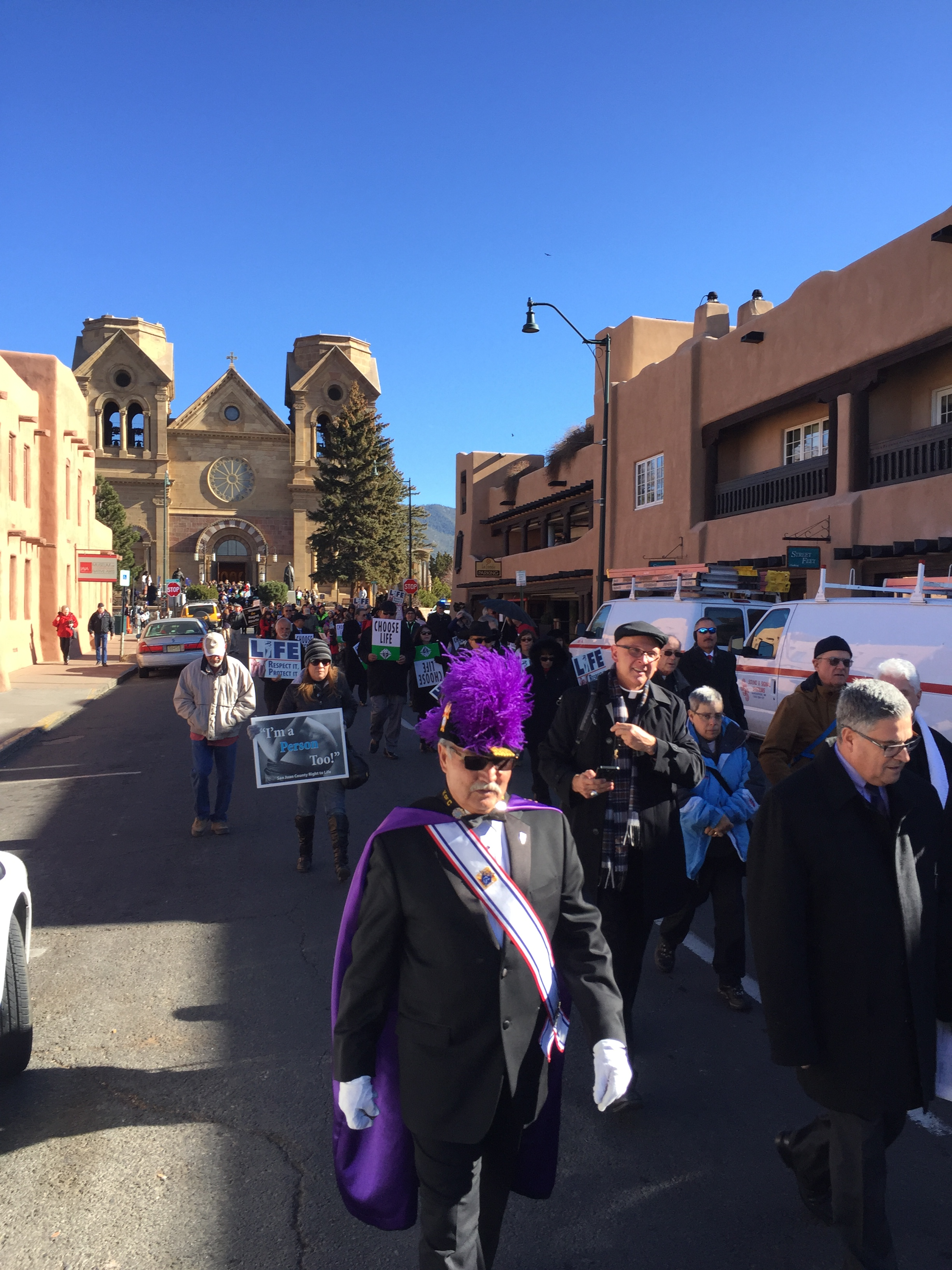 Santa Fe Sanctity of Life March