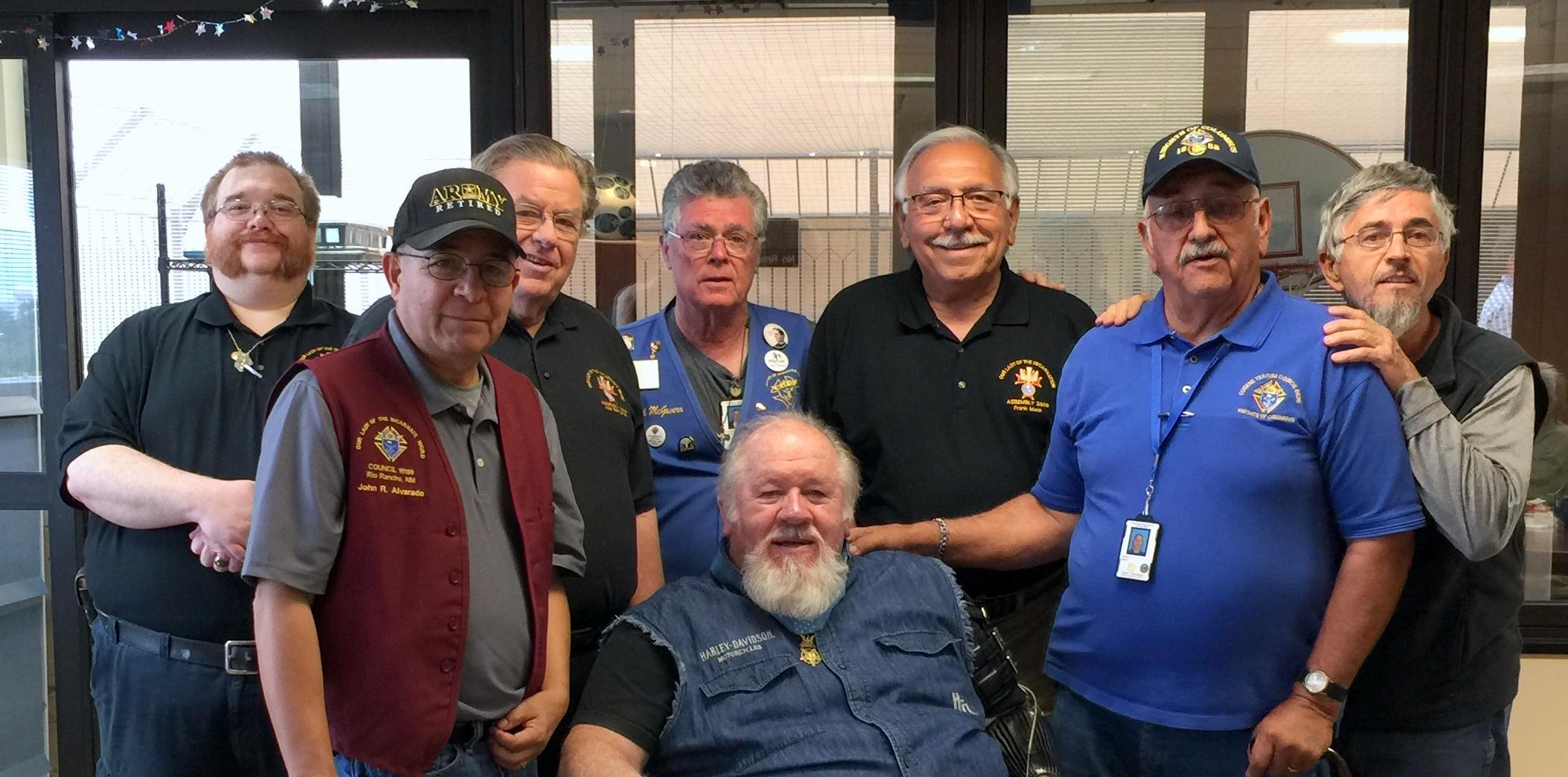 VA visit MOH recipient Gary Wetzel