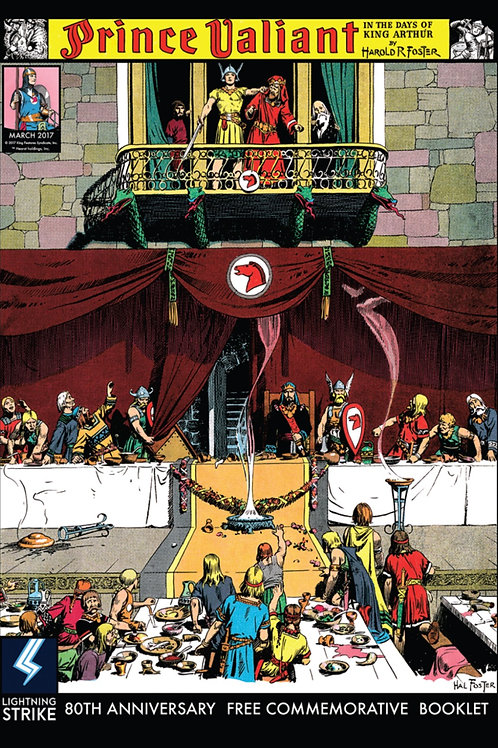 Prince Valiant : 80th Anniversary Commemorative Edition