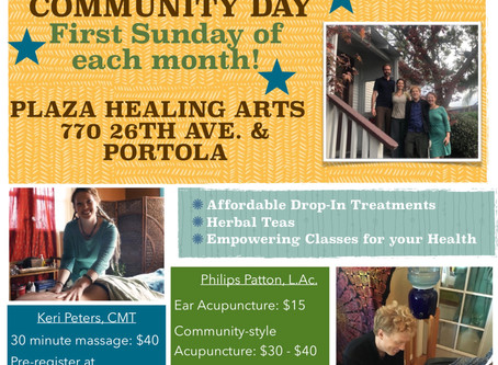 Portola Plaza Community Days!