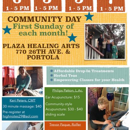 Portola Plaza Community Days!