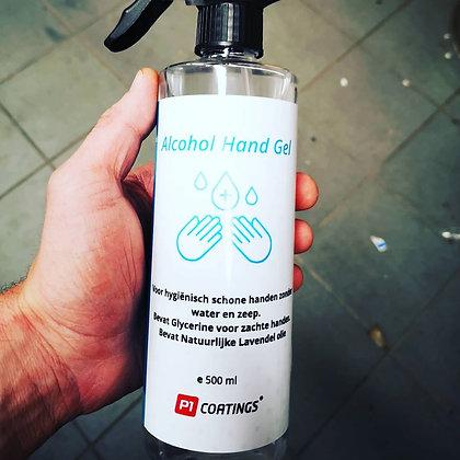 Alcohol hand gel 70% 500ml