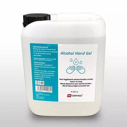 Alcohol hand gel 70% 5L