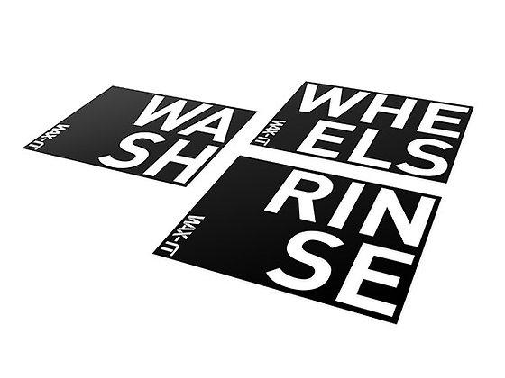 Wax - It Sticker Set for Grit Guard Wash Bucket