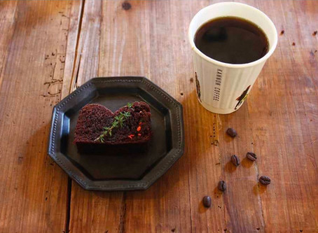 ブラジルのコーヒー×濃厚ラムレーズンチョコケーキ【大須】