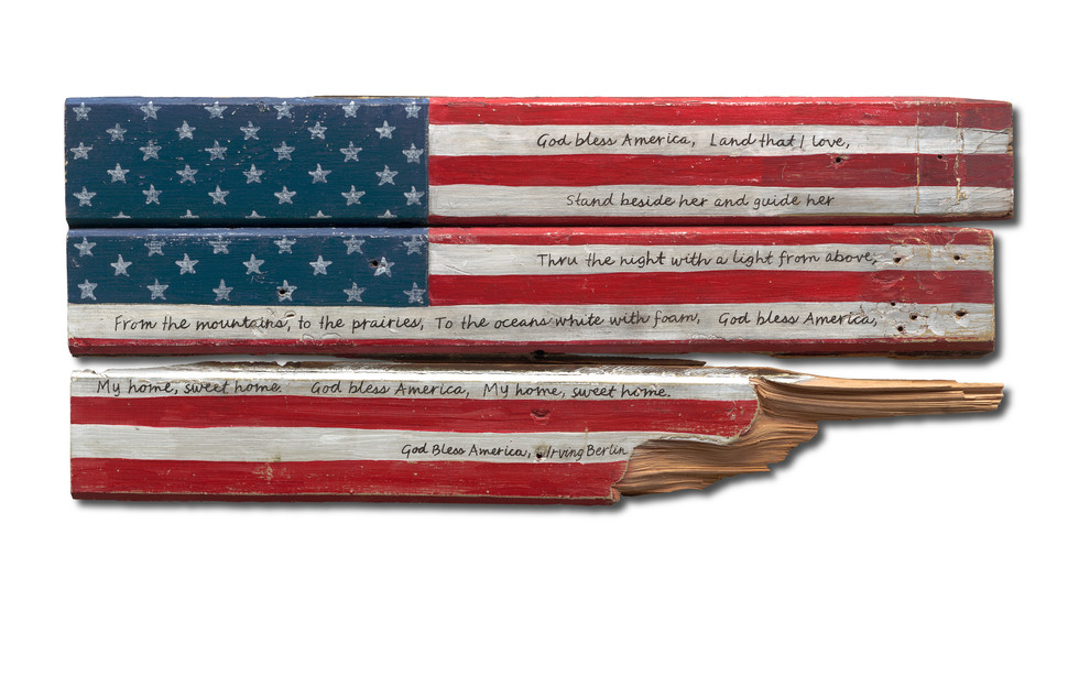 American Flag #40 - God Bless America