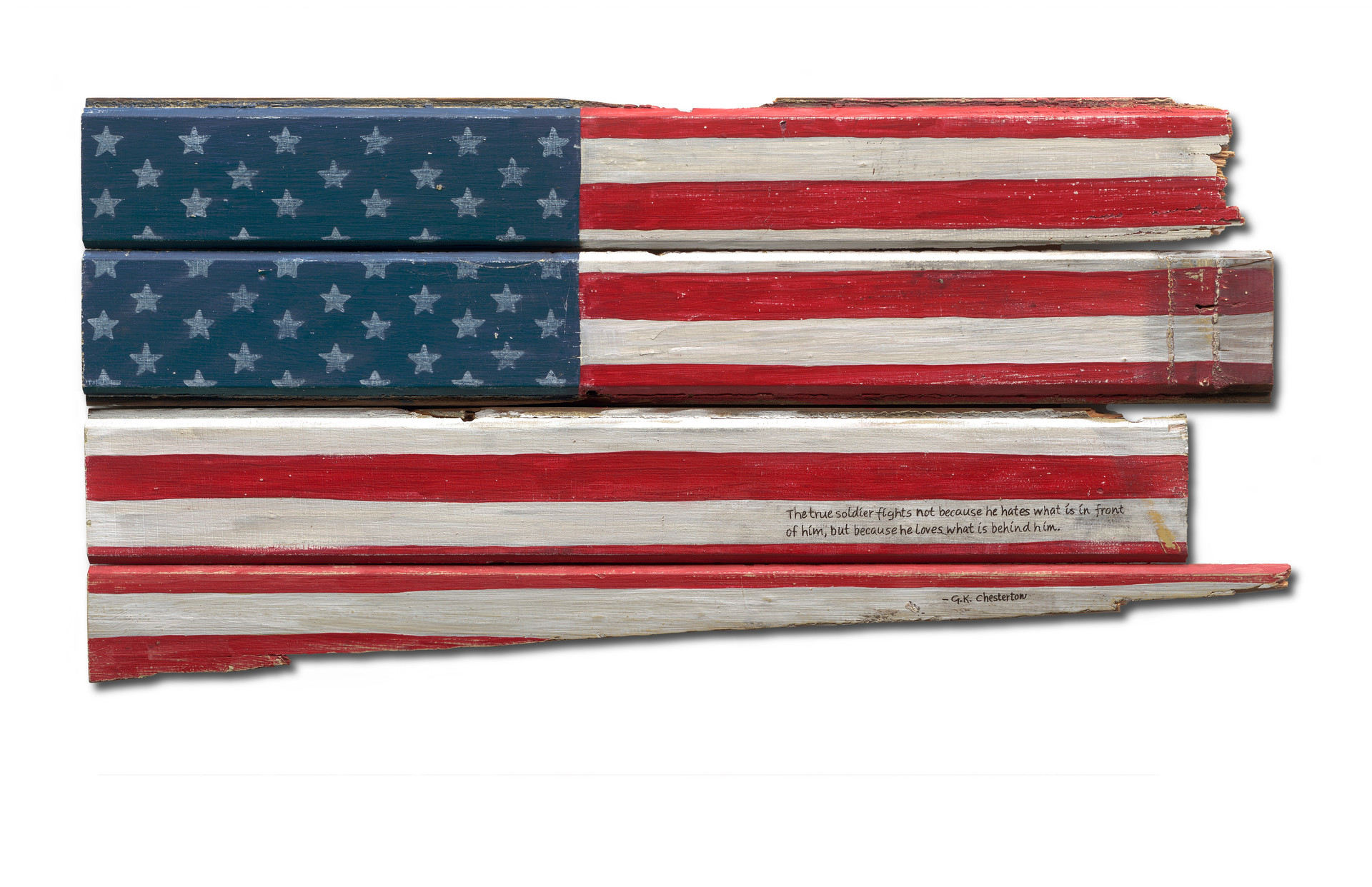 American Flag #38 - The True Soldier